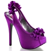 TEEZE-56 Purple Satin